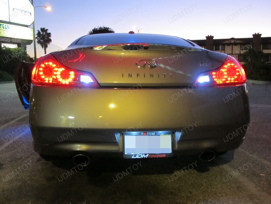 Infiniti - G37 - LED - reverse - lights - 1